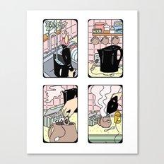 How To Make Tea Canvas Print