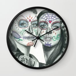 Meryl Streep and Lindsay Lohan  Wall Clock