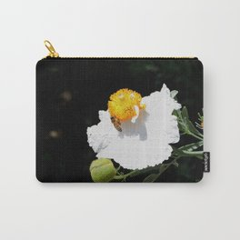 Matilija Poppy Carry-All Pouch