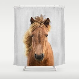 Wild Horse - Colorful Shower Curtain