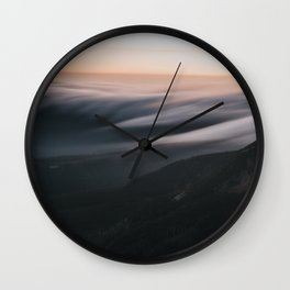 Sunset mood - Landscape and Nature Photography Wall Clock