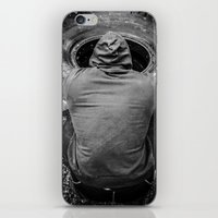 crossfit iPhone & iPod Skins featuring Meditation by DerekDa