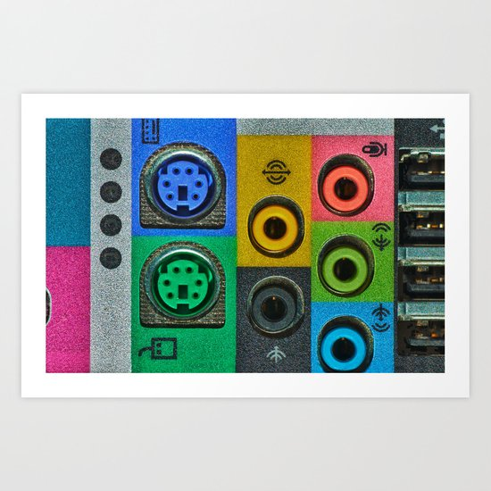 Making Connections Art Print