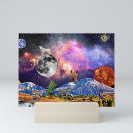 A Remote Wonderland Mini Art Print