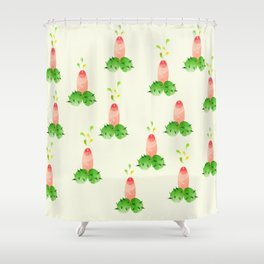 Botania in Bloom Shower Curtain