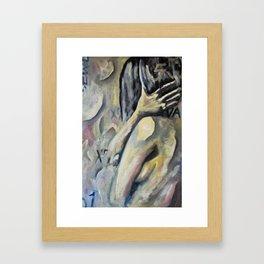 Bad Skin Framed Art Print