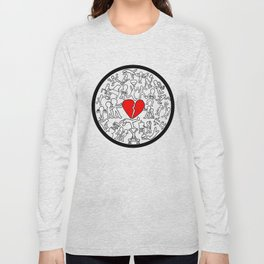 Keith Haring-Inspired Project Long Sleeve T-shirt