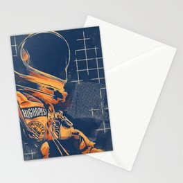 Spaceman Stationery Cards