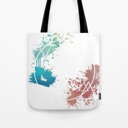 Spring Circle Tote Bag