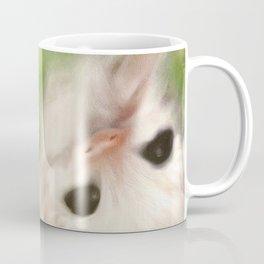 Funny Baby Sloth Reminds Fibromyalgia People to Take it Easy Coffee Mug