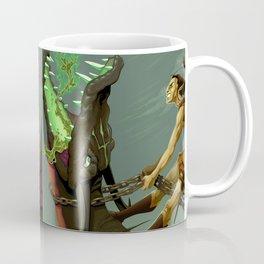 The elf and the dragon Coffee Mug