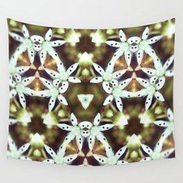 Flower Prism Original Artwork by Rachael Rice Wall Tapestry