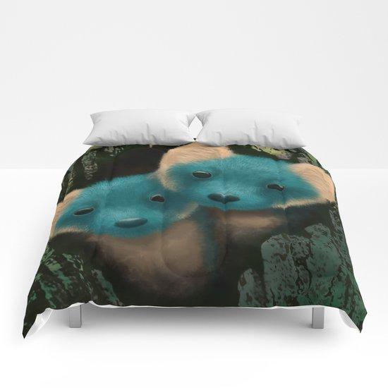 Fox Cubs Comforters