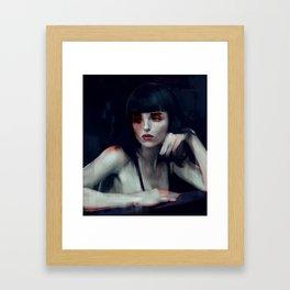 Krystal Framed Art Print