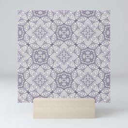 Mandala (Seamless) Mini Art Print