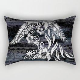 Polynesian Tribal Threads Rectangular Pillow