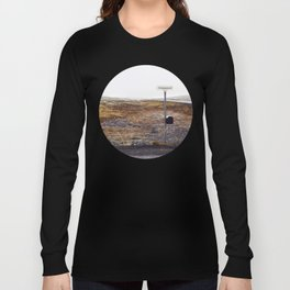 Post box, Iceland Long Sleeve T-shirt