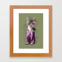 BELLBOTTOM LIGHT Framed Art Print