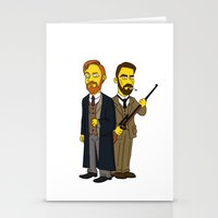 moriarty Stationery Cards featuring Moriarty & Moran by San Fernandez