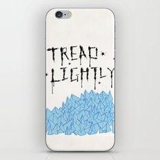 tread lightly - walter white iPhone & iPod Skin