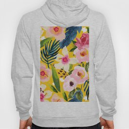 No Winter Lasts Forever; No Spring Skips It's Turn #painting #botanical Hoody