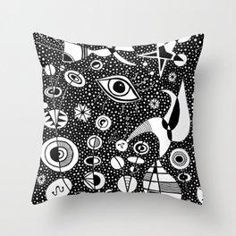 Joan Miró - Constellations Throw Pillow