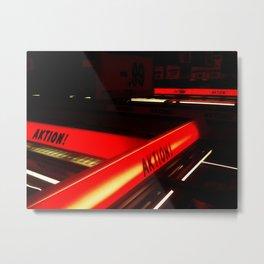 Aktion! Metal Print