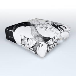 The dragon Outdoor Floor Cushion
