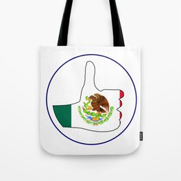 Thumbs Up Mexico Tote Bag