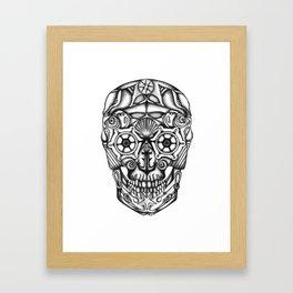 Sea-Scull Framed Art Print
