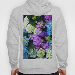 Colorful Flowering Bush Hoody