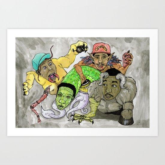 """Rella"" by Cap Blackard Art Print"