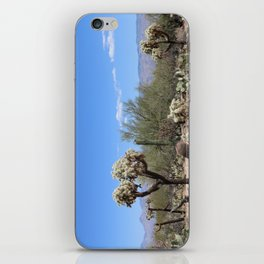 The Beauty Of The Desert iPhone Skin