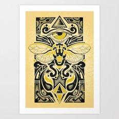 Cicada Art Print