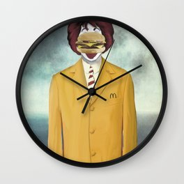 The Son of Cheese Wall Clock
