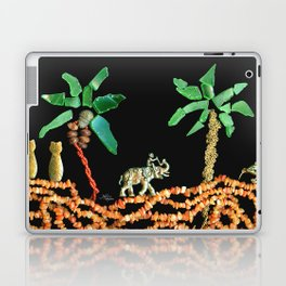 Safari Elephant Jewelry, Scanography Laptop & iPad Skin