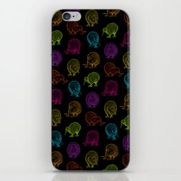 Hungry Kiwis – Disco Palette iPhone Skin