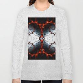 Fractal Art - Fire Arch I Long Sleeve T-shirt