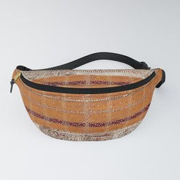 Tapis Lampong South Sumatra Indonesian Wrap for Woman Print Fanny Pack