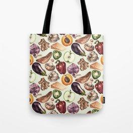 Food Pattern Tote Bag