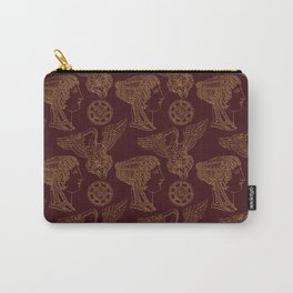 Empire Style Pattern Carry-All Pouch