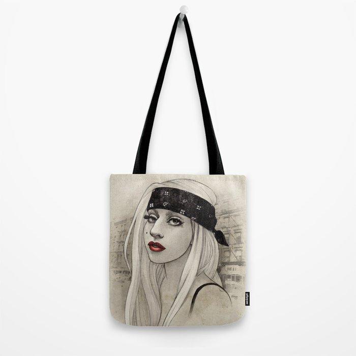 New York Woman born to run you down Tote Bag