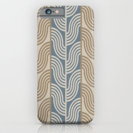 Tree branches. Abstract Pattern iPhone Case