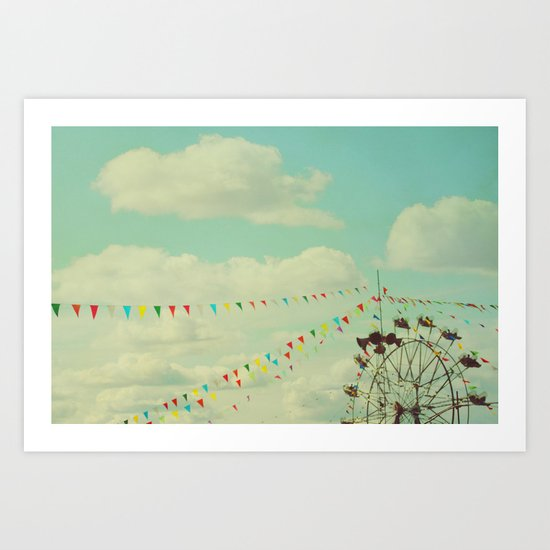 the joy of summer Art Print