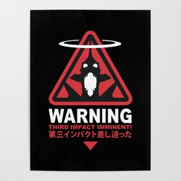 Third Impact Evangelion Poster