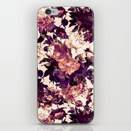 Watercolors Floral Pattern iPhone Skin