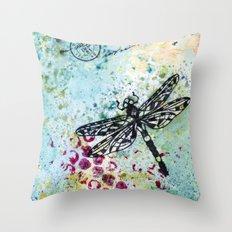 Dragonwings Throw Pillow