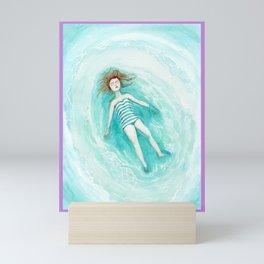 Flowting or sinking Mini Art Print