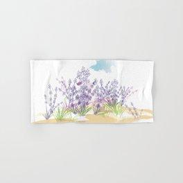 Lavender flower Hand & Bath Towel