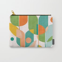 floral shapes IV Carry-All Pouch